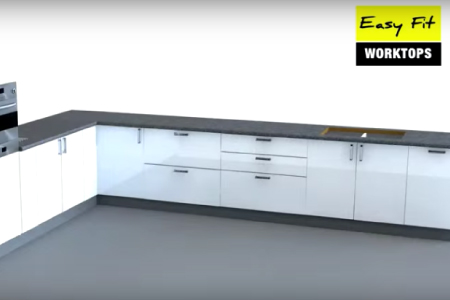 How to install Your EASY Fit Jointed Worktop