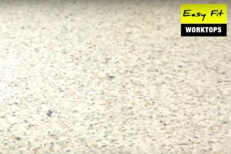 Elite 40mm Worktop - Cream Sparkle/ Sand Pebble Gloss