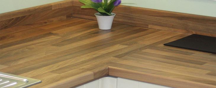 oak effect kitchen laminate worktop