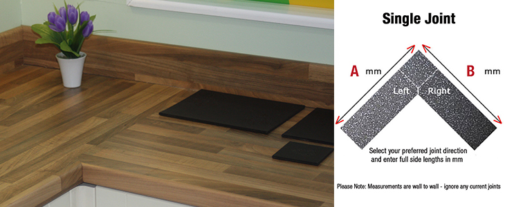 Single Worktop Jointing Services