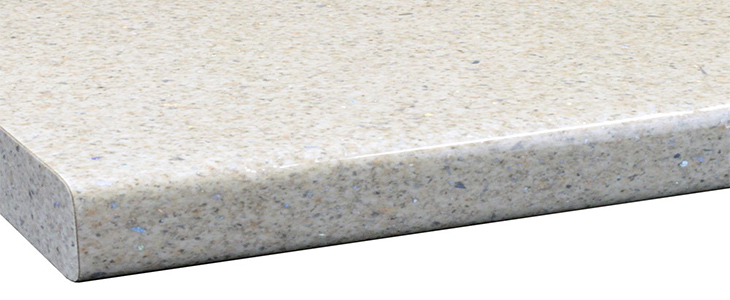 Cream Sparkle Gloss Laminate Worktop