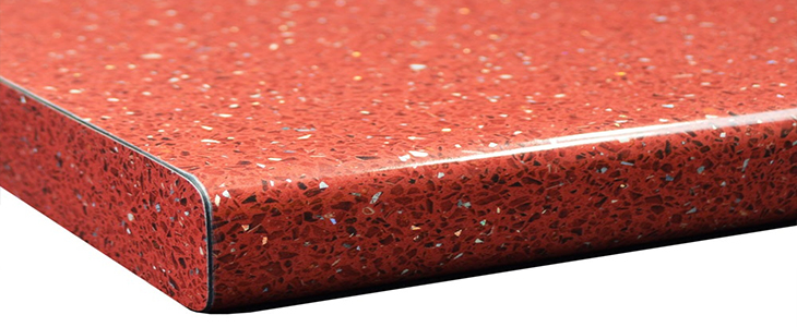 Red Sparkle Worktop