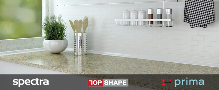 leading brand worktops for a designer kitchen feel