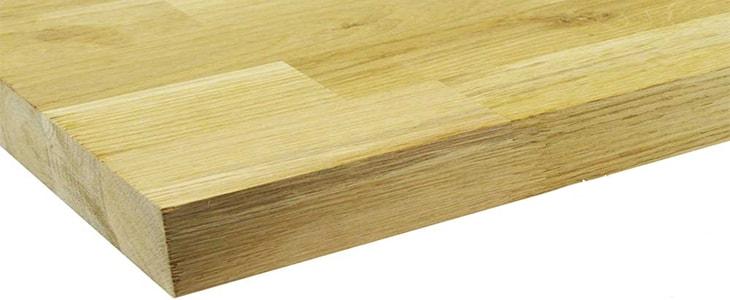 natural wood worktop