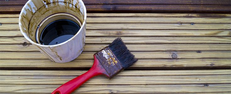 how to oil your decking