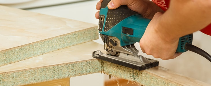cutting your kitchen worktop to size how to make the best cut feature image