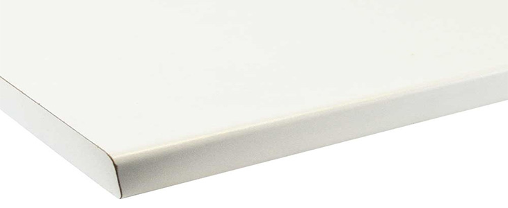 pearl white worktop