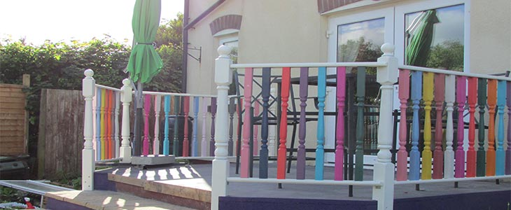 how to be creative on a budget with your decking feature image