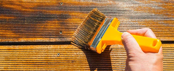 oiling decking boards