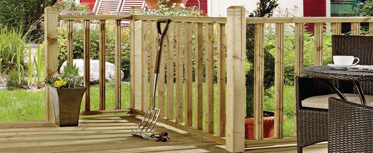 install a balustrade