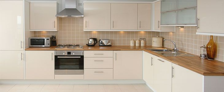 clear and tidy worktops