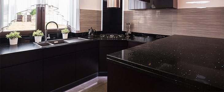 4 top tips on caring for your black kitchen worktops feature image
