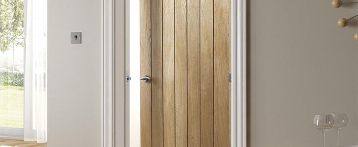 mexicano style oak door