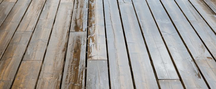 wet decking boards