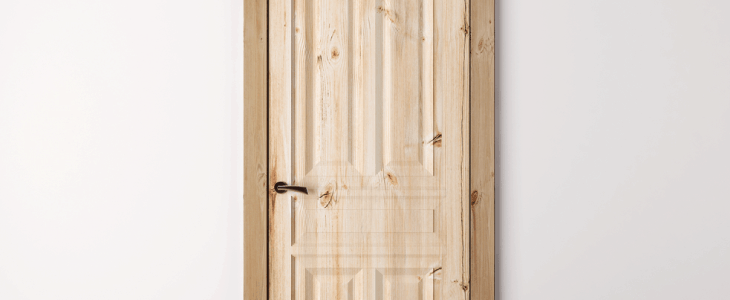 pine internal door