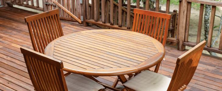 decking furniture