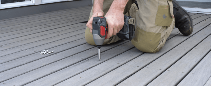 fixing decking yourself
