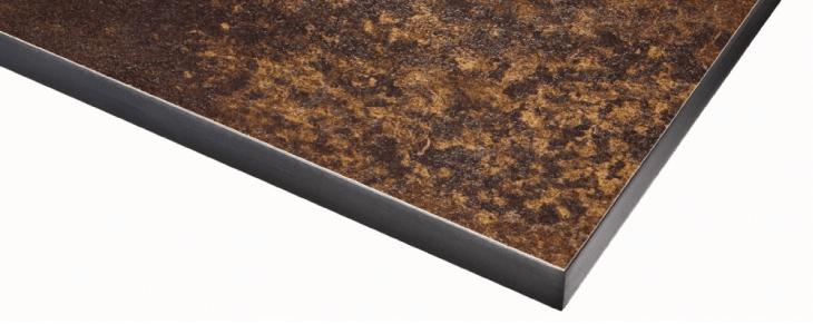 rouille laminate kitchen worktop