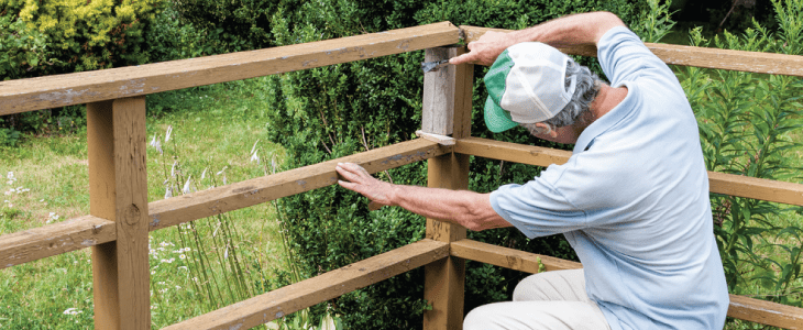 decking railing