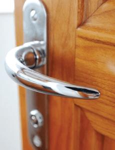 internal oak door handle