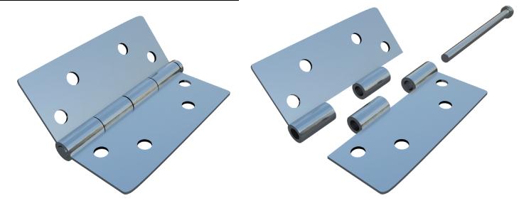 hinge pins removal