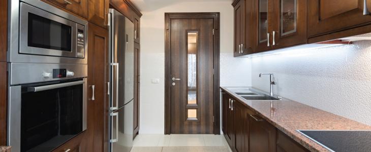 door kitchen