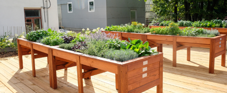 planting tables