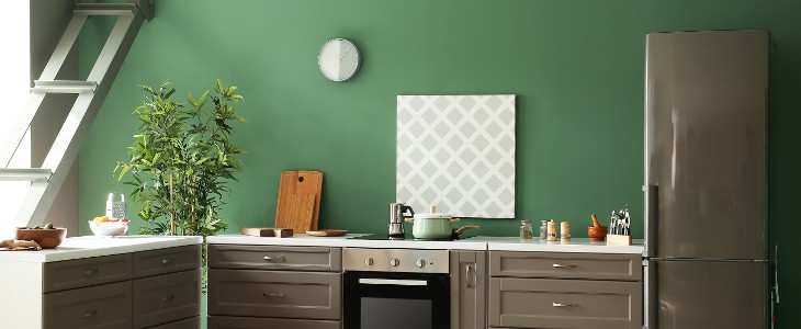 savoy colours in rooms - (2. kitchen)
