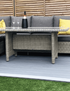 Solid composite decking boards
