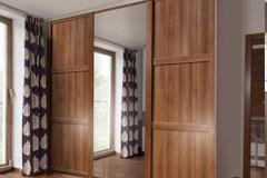 Shaker Three Panel Sliding Wardrobe Doors