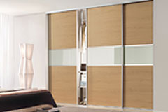 Classic 3 Panel Fineline Sliding Doors