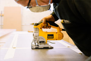 Worktop Fabrication