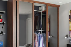 Shaker Single Panel Sliding Wardrobe Doors