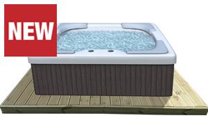 Hot Tub Deck Kits