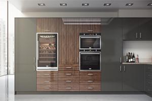 Aspects Slab Doors/ High gloss, Matt & Woodgrain