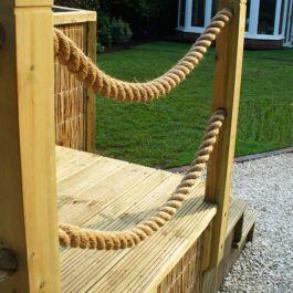 Decorative Decking Rope Savoy Timber