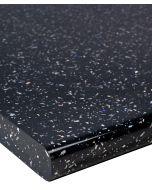 Black Sparkle Gloss Kitchen Worktop 40mm