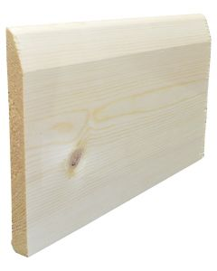 150mm x 19mm (6inch x 3/4inch) Pencil Round Skirting
