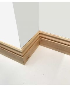 125mm x 25mm (5inch x 1inch) Regency Reversible Skirting Board