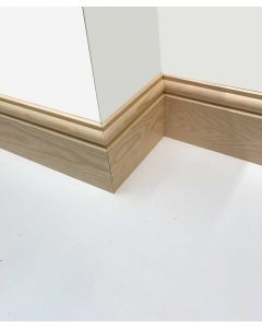 150mm x 25mm (6inch x 1inch) Torus Reversible Skirting