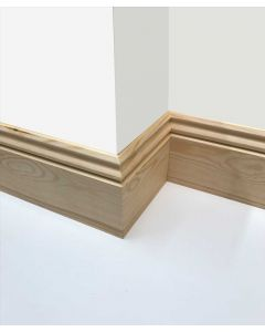 170mm x 20mm (7 inch x 1 inch ) Regency Reversible Skirting Board