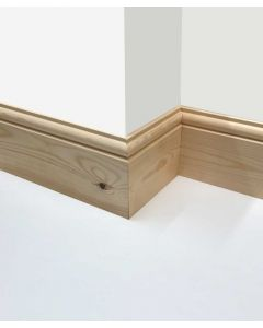(7 inch x 1 inch) Torus Reversible Skirting Board
