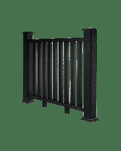 Charcoal Composite Decking Balustrade (1.2m)
