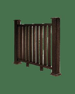 Mocha Composite Decking Balustrade (1.2m)
