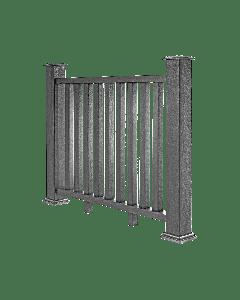 Welsh Grey Composite Decking Balustrade (1.2m)