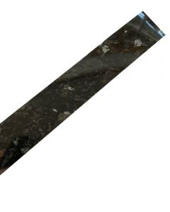 Black Slate Gloss Worktop Edging Strip