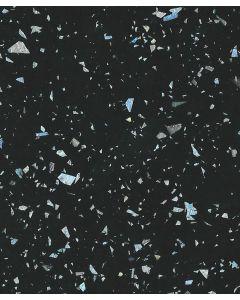 Black Sparkle Gloss Kitchen Worktop Laminate Sample