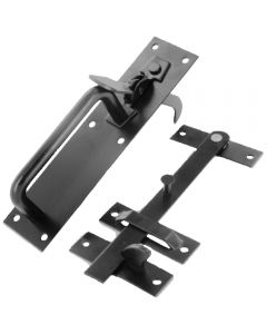Black suffolk latch