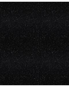 Stardust Black (Gloss) 40mm Laminate Kitchen Worktop by Oasis