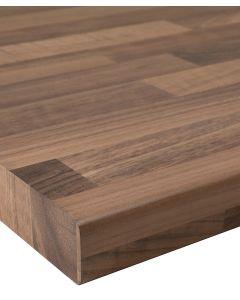 Walnut Block 40mm Laminate Worktop 3000 x 600 x 38mm